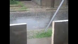 lluvia de piedras en cordoba