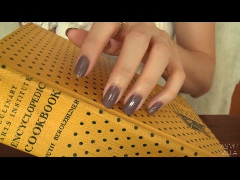 ASMR * Tapping & Scratching * Theme: Vintage * Fast Tapping
