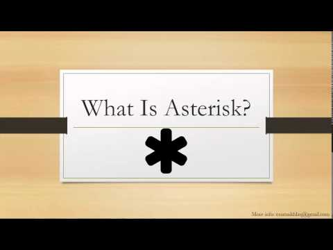 1 What is Asterisk? - Asterisk Tutorial Urdu / Hindi