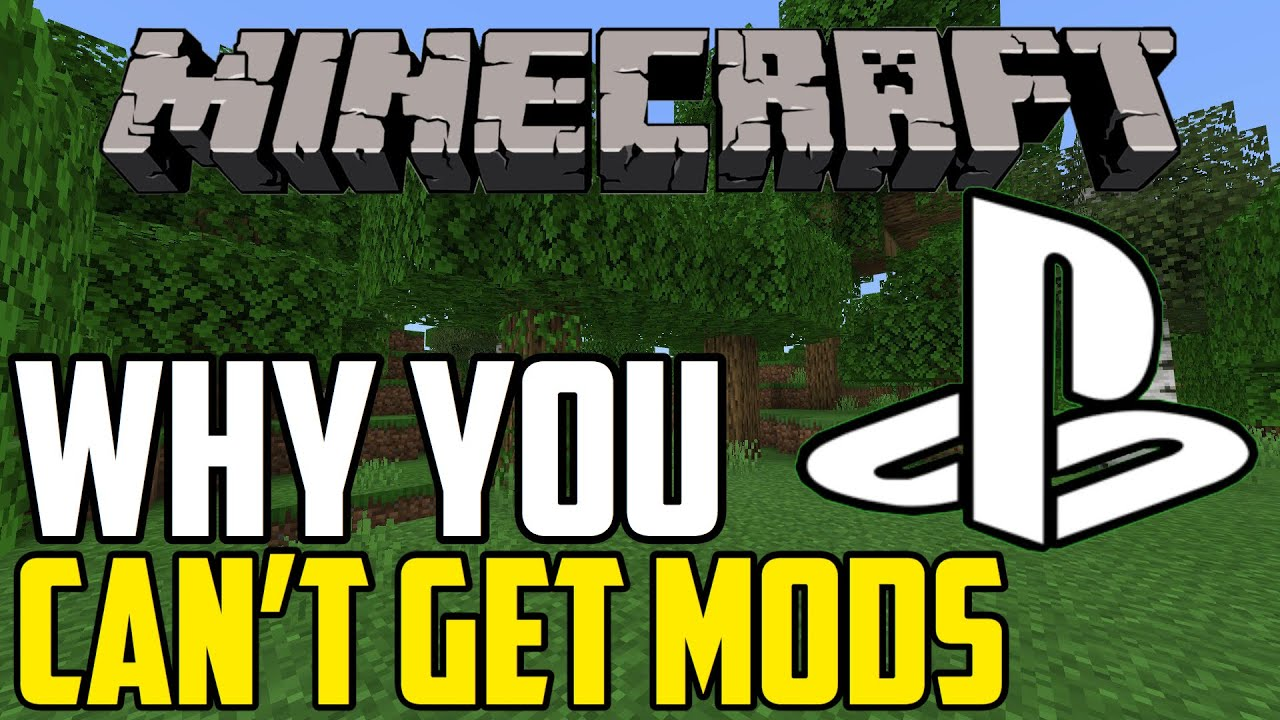 Why You Can t Get Mods On Minecraft Ps4 YouTube