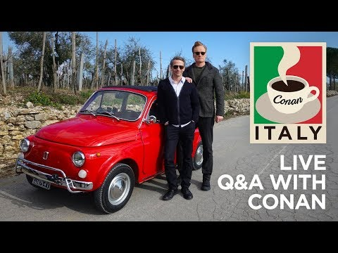 """Live Q&A: """"Conan Without Borders: Italy"""""""