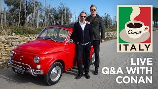 "Live Q&A: ""Conan Without Borders: Italy"""