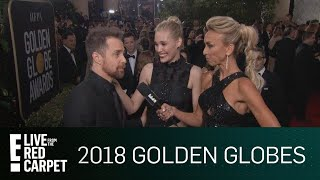 Sam Rockwell Talks Time's Up Initiative at 2018 Globes | E! Live from the Red Carpet