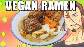 FOOD WARS! SAIBA&#39S VEGAN BREAKFAST RAMEN