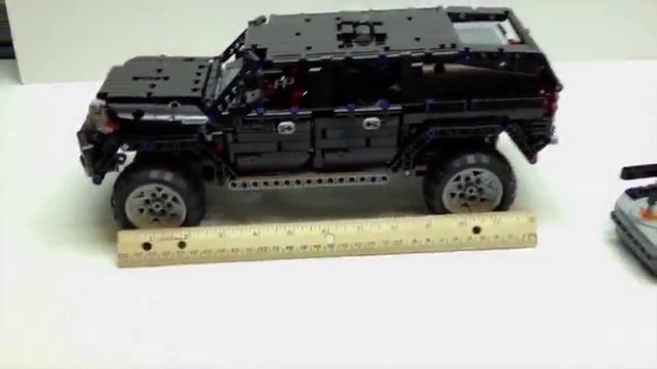 lego technic awd suv mkii review youtube. Black Bedroom Furniture Sets. Home Design Ideas