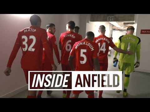 Inside Anfield: Liverpool 2-0 Sunderland   TUNNEL CAM