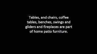 Home Patio Furniture Tips | Outdoor Patio Furniture Guide