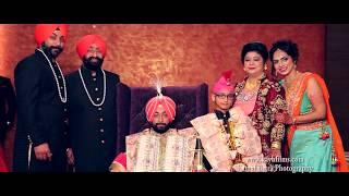 Best Indian Punjabi Sikh Cinematic Wedding | | Gagan And Reema | | Kay.B Films | | Nangal