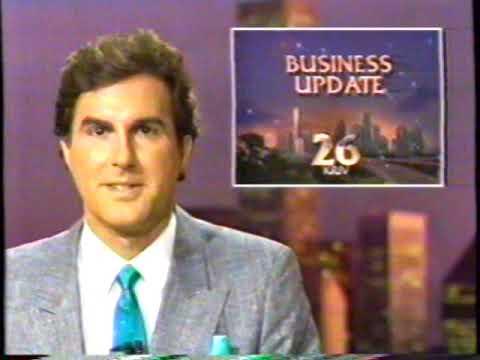 9/18/1987 KRIV Channel 26 Business Update Houston Texas