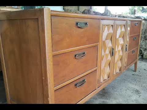 Mid Century Modern Dresser Makover Renew Flip Furniture