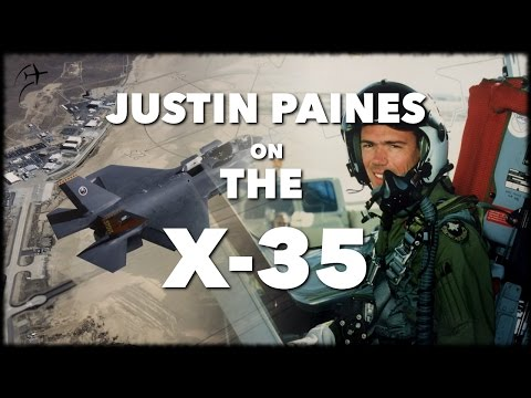 Interview with Justin Paines on the  X-35 JSF