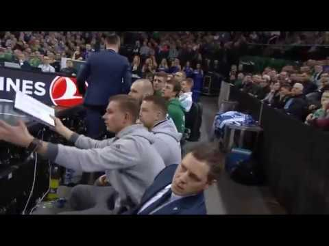 Sarunas Jasikevicius got ejected against CSKA Moscow