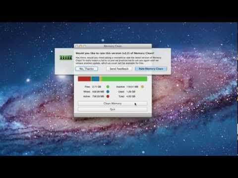 Memory Clean - Mac schneller machen