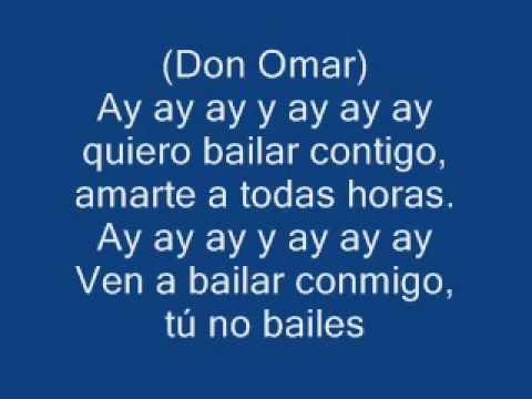 Don Omar Ella No Sigue Modas (LETRA)