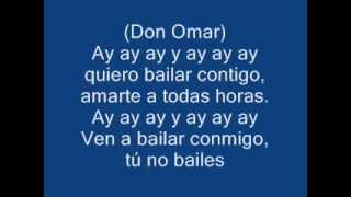 Don Omar Ella no sigue modas (LETRA)