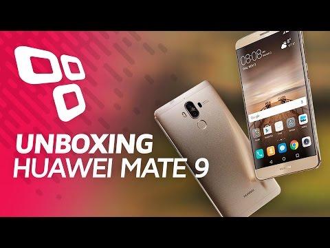 Unboxing do Huawei Mate 9 - TecMundo