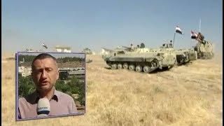 Война в Сирии, июнь 2018 года.  Сирийская армия начала наступление