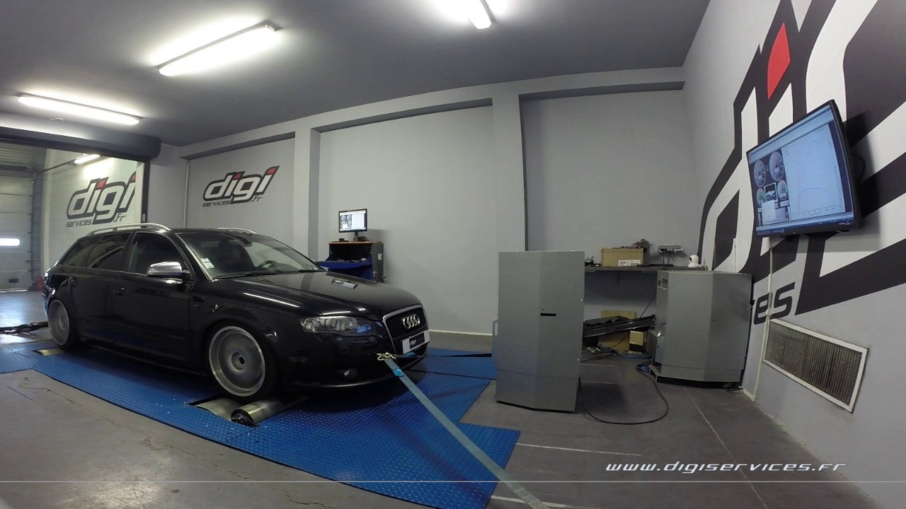 audi a4 3 0 tdi 233cv reprogrammation moteur 289cv digiservices paris 77 dyno youtube. Black Bedroom Furniture Sets. Home Design Ideas