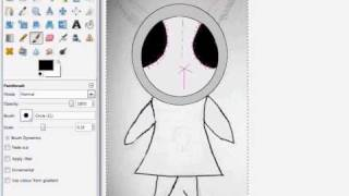 Gimp speed paint voodoo doll.wmv