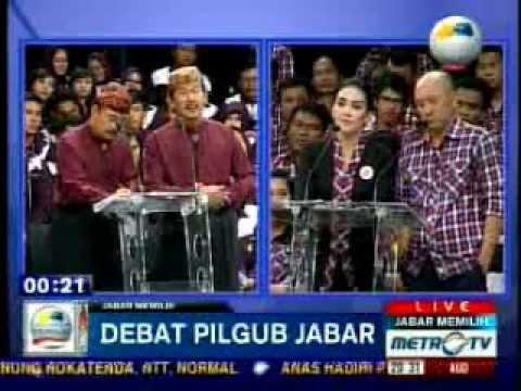 Debat Kandidat PILGUB JAWA BARAT - Metro TV (part 6-8)
