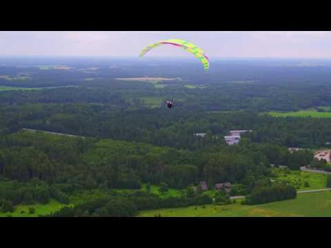 Drone video - Chasing a paraglider with the Inspire 1