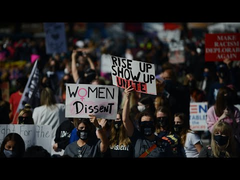 WATCH-LIVE-Womens-March-protests-Amy-Coney-Barrett-in-D.C.