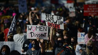 WATCH LIVE: Women's March protests Amy Coney Barrett in D.C.