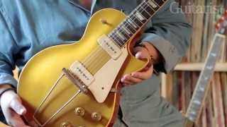 Bernie Marsden on his 1965 Gibson ES-335 and 1952 Les Paul Goldtop