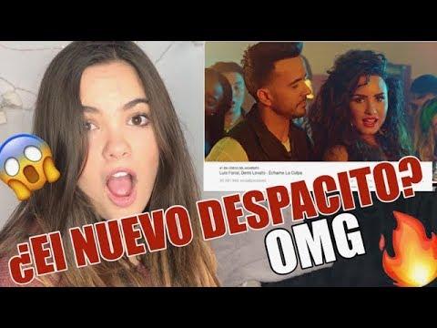 VIDEO REACCIÓN LUIS FONSI, DEMI LOVATO-...