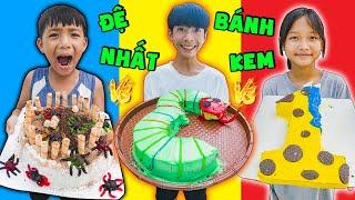 Thái Chuối | Thử Thách Trang Trí Bánh Kem - Cake Decoration Challenger