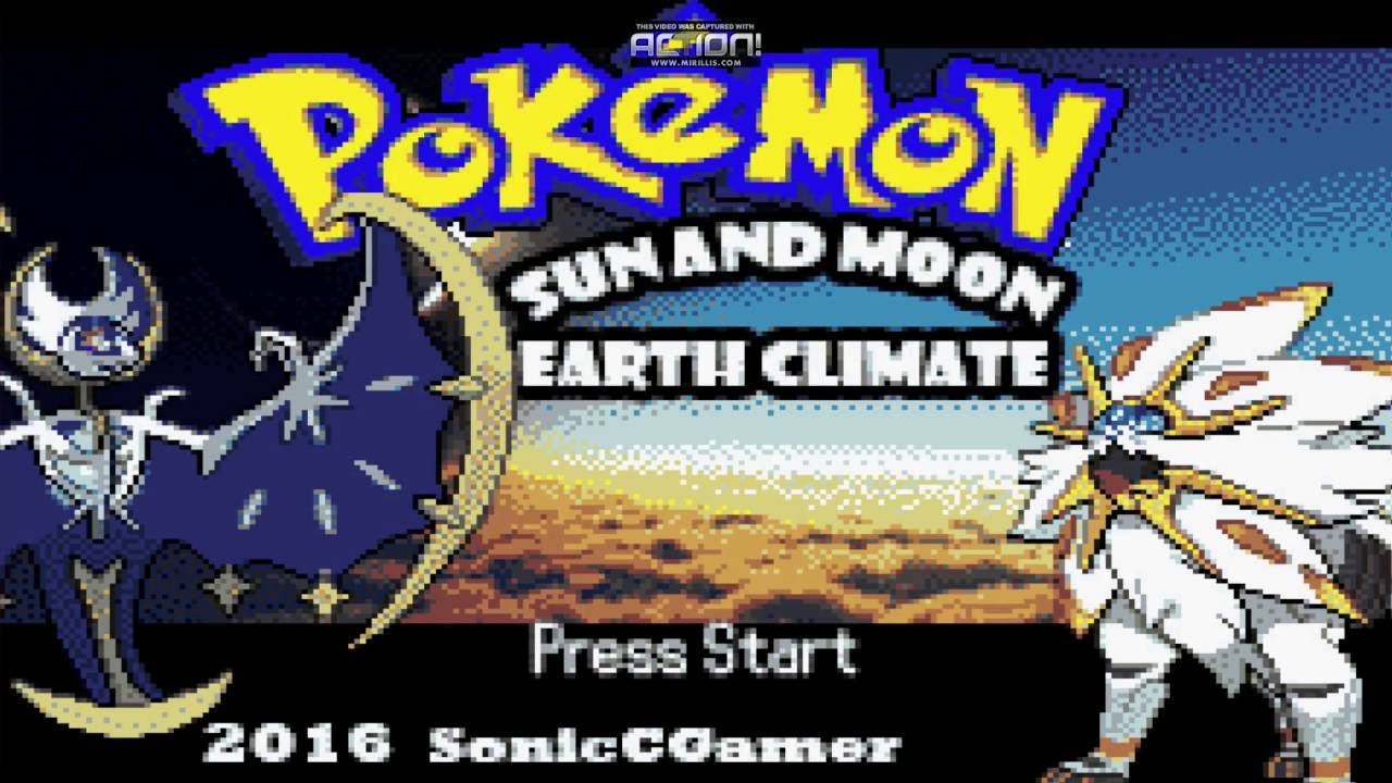 pokemon sun and moon gba rom