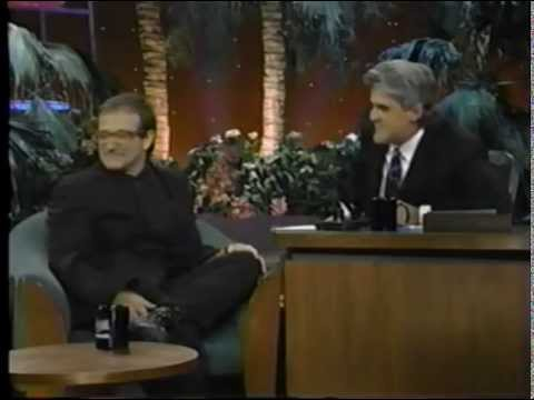 The Tonight Show Jay Leno  Robin Williams - Jumanji