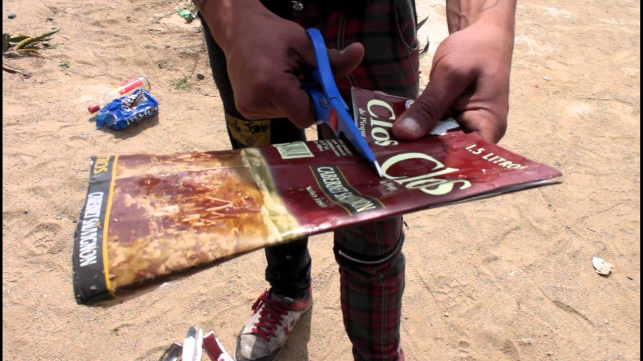 Como hacer una billetera con una caja youtube - Como hacer una caja de carton ...