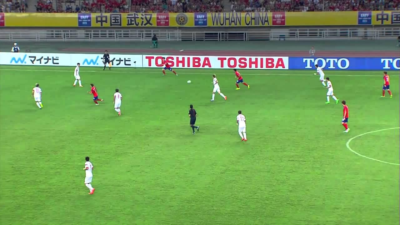 EAFF EAST ASIAN CUP 2015 CHINA PR vs KOREA REP.