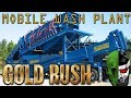 Gold Rush the Game: Setting up a MOBILE WASH PLANT! Get rich quick? #3