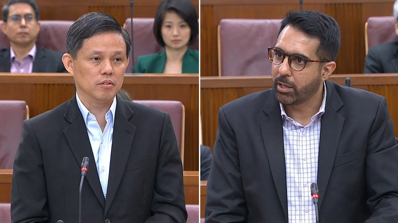 Chan Chun Sing, Pritam Singh spar in Parliament over Singapore's foreign worker policy