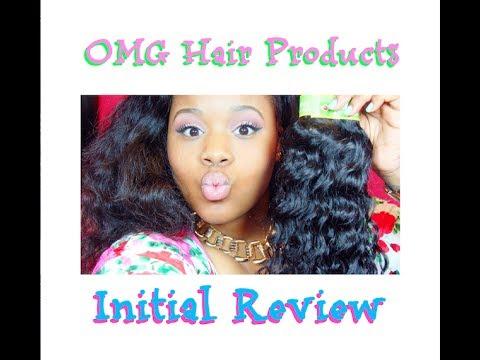 ❤ Aliexpress Guangzhou OMG Hair Products Brazilian Deep Wave Kinky Unboxing ❤