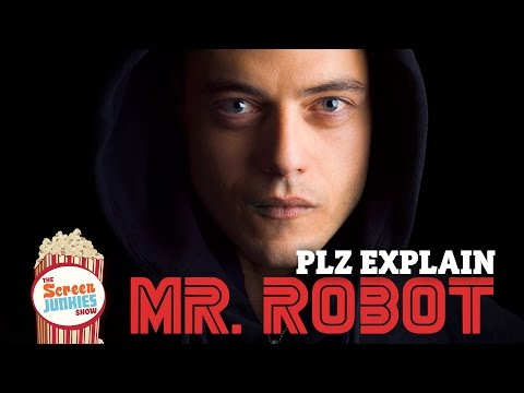 PLZ Explain Mr Robot Poster