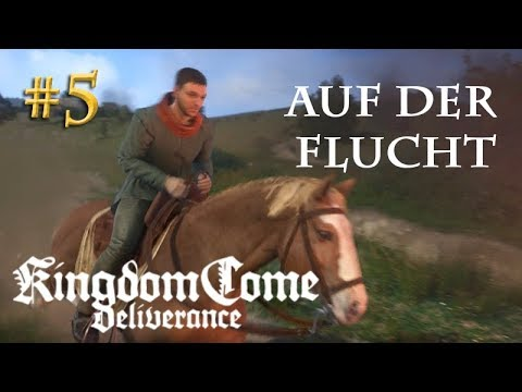 Let's Play Kingdom Come Deliverance #5: Auf der Flucht  (Tag 1 / Blind / deutsch)