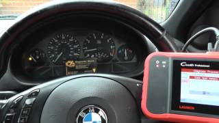 Launch CRP123 BMW Airbag Light Turn Off