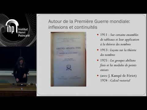 Journée de la Revue d'histoire des mathématiques - Catherine Radtka - 01/12/17