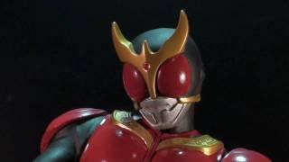 Vangelus Review 52 - Masked Rider Kick Pose Display Kuuga thumbnail