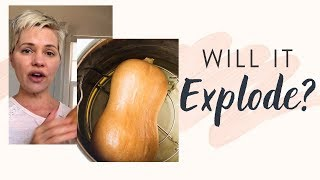 How to Cook a Whole Butternut Squash in the Instant Pot