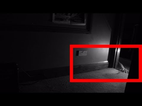 REAL GHOST CAUGHT ON TAPE  ( SCARY ) - Demon Attack Caught on Video Tape