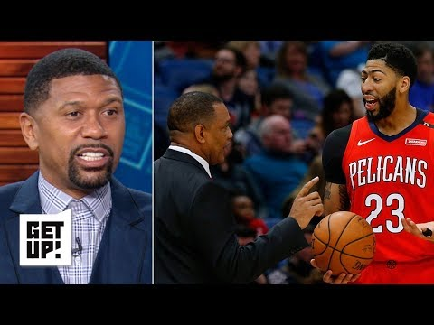 Anthony Davis will play in NBA All-Star game, but will sit for Pelicans - Jalen Rose   Get Up!