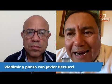 Entrevista de Vladimir Villegas al Diputado Javier Bertucci (Viernes 26 febrero 2021)