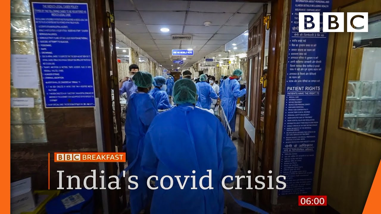 India Covid crisis: Hospitals buckle under record surge @BBC News live ? BBC