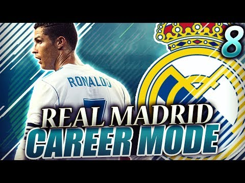 FIFA 18 Real Madrid Career Mode #8 - CRAZIEST UCL GAME VS MAN CITY!! BEST PLAYER IN THE WORLD, CR7!