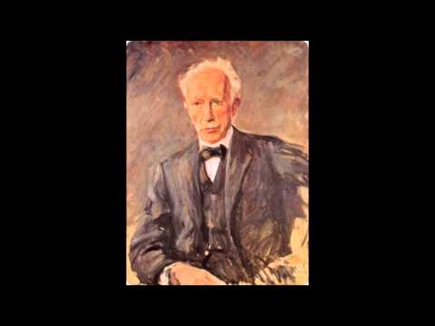 Richard Strauss conducts his