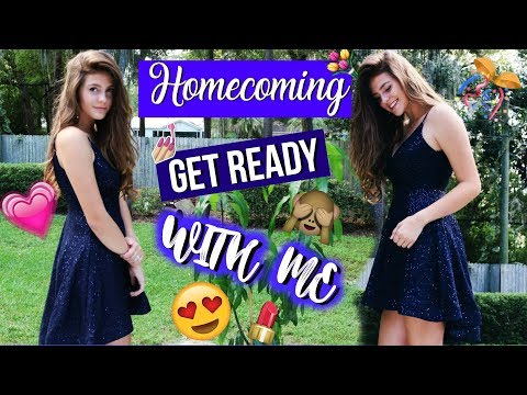 HOMECOMING Get Ready With Me // AUSLANDSJAHR USA 2017/18